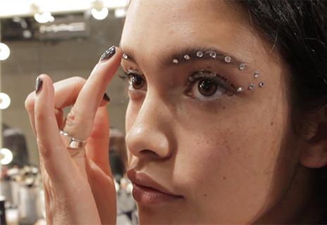 What a make-up artist goes through at fashion week