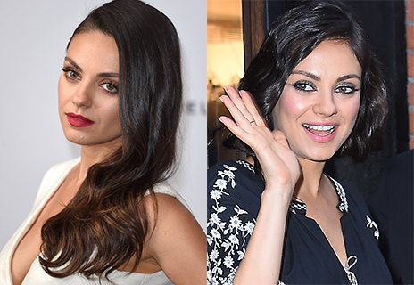 Mila Kunis goes short and chic