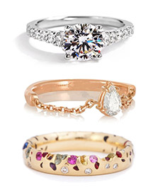 Engagement rings for every bride