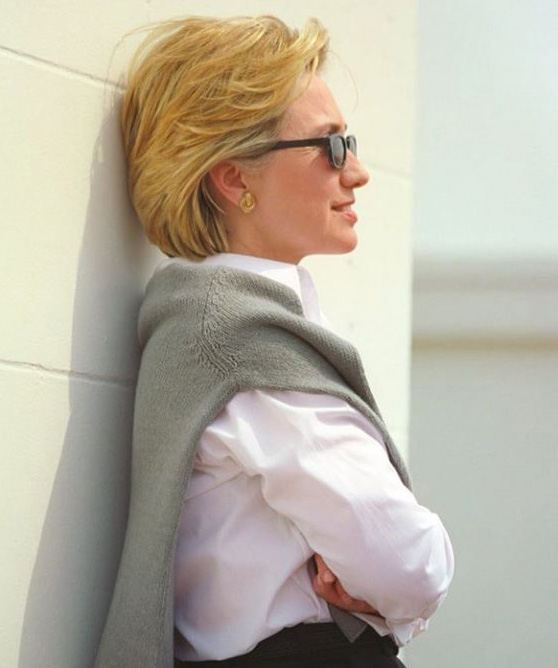 Where Clinton gets her cool
