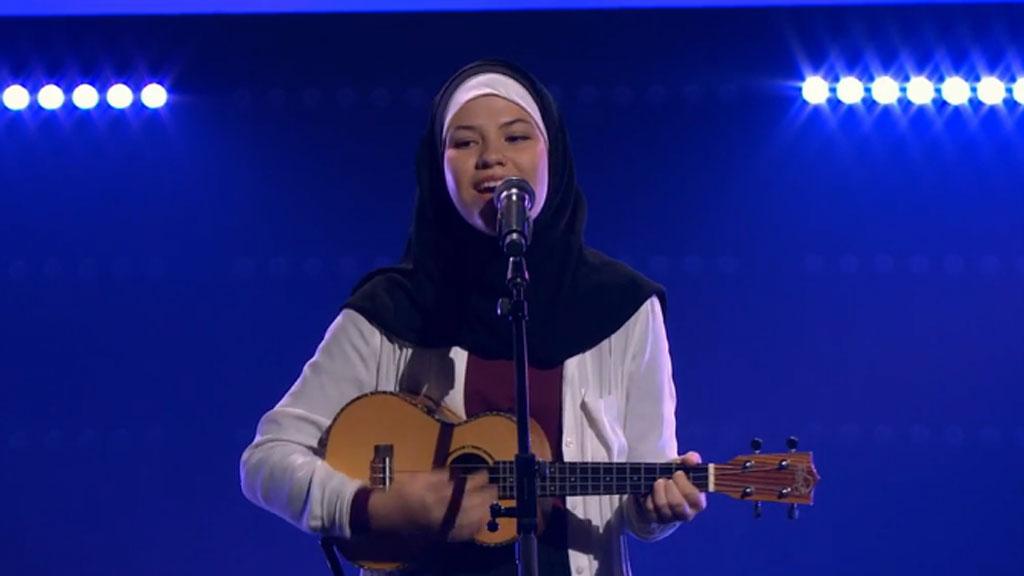 Brittania contestant The Voice