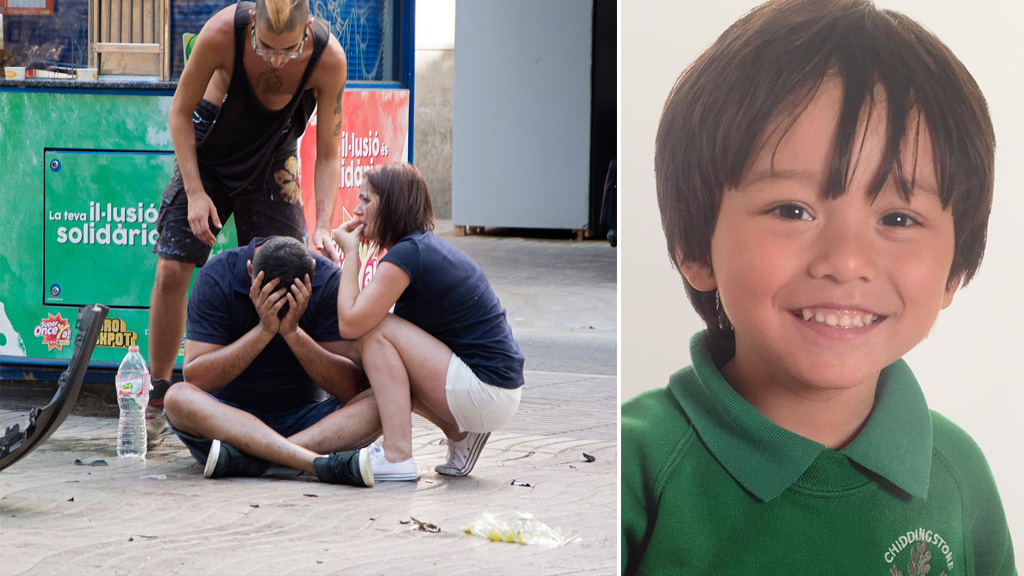 Sydney boy identified as missing Aussie after Barcelona attack