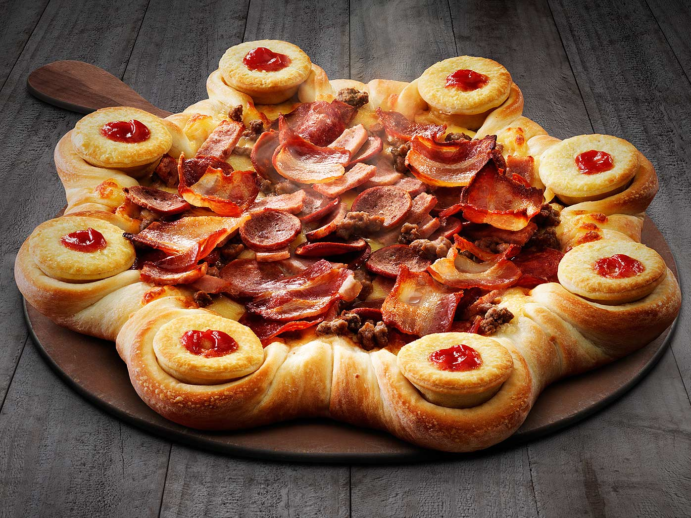 Pizza Hut and Four'N Twenty launch 'lovechild'