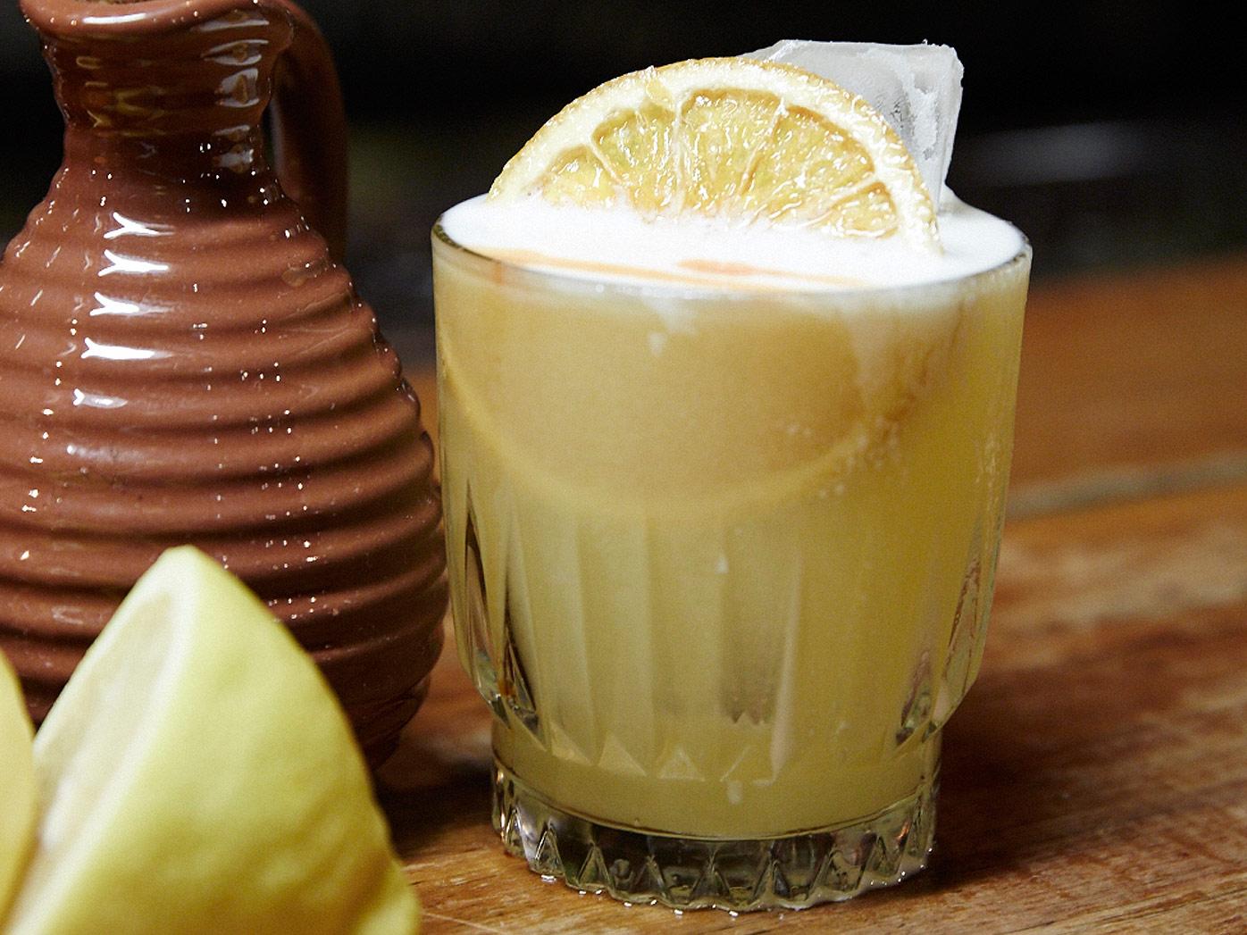 Ardbeg's Islay sour whisky cocktail