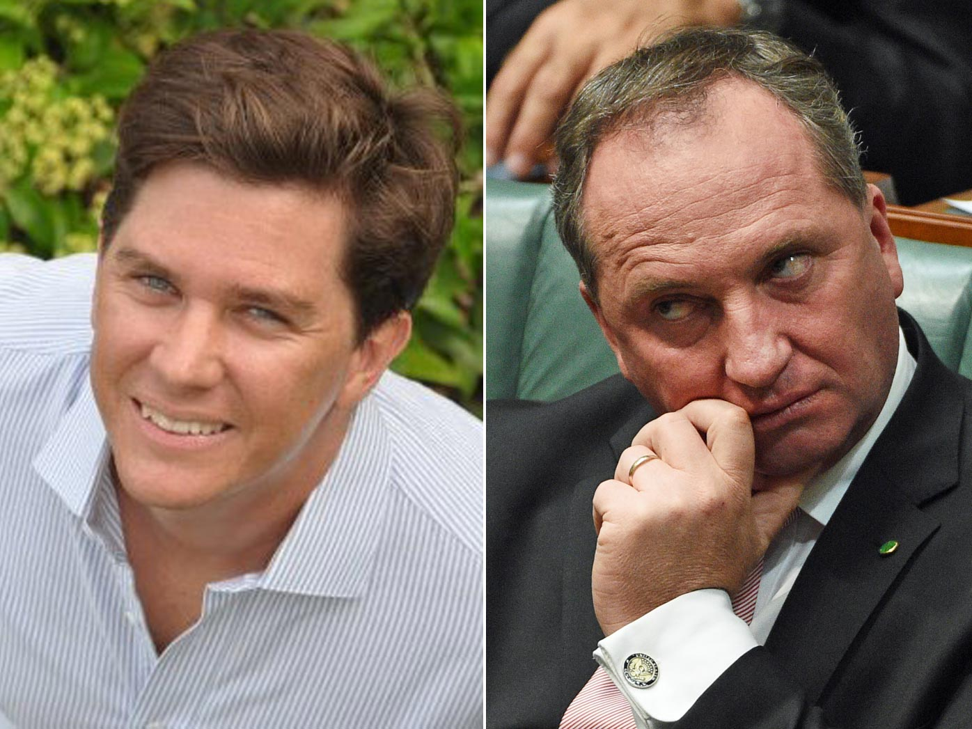 John Hancock and Barnaby Joyce