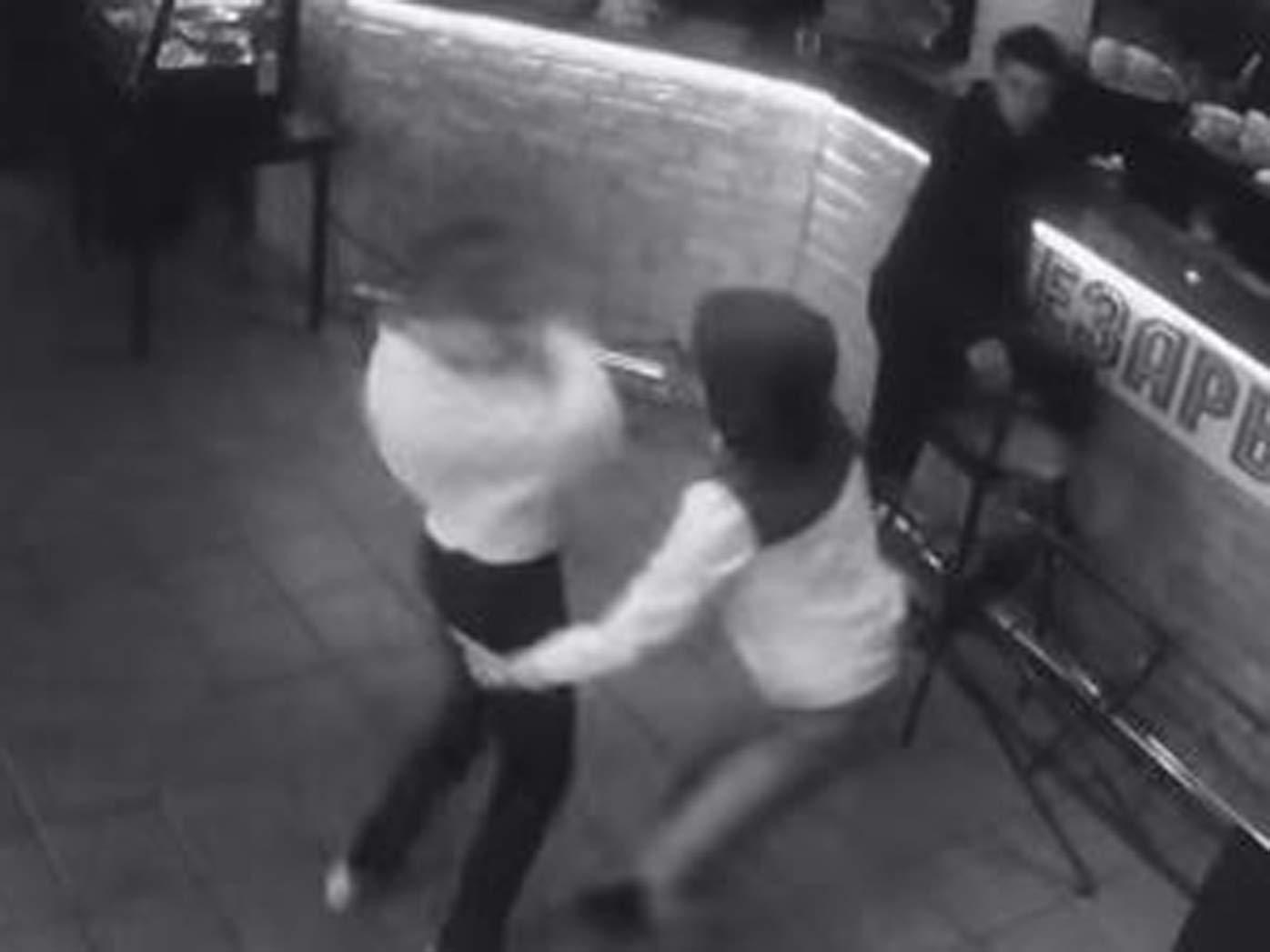 Badass waitress