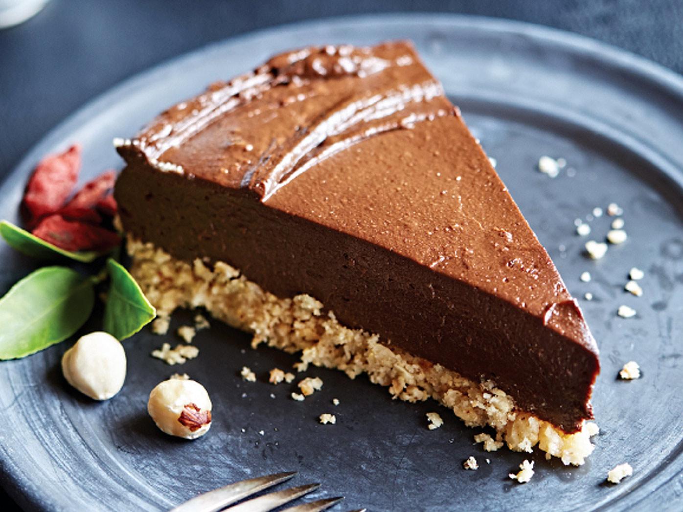 Tess Masters' raw chocolate-orange torte