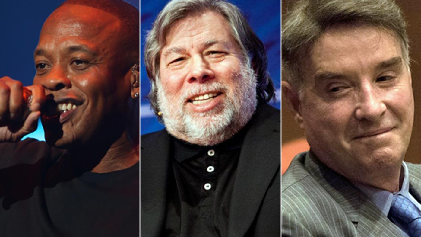 Dr Dre, Steve Wozniak, Eike Batista