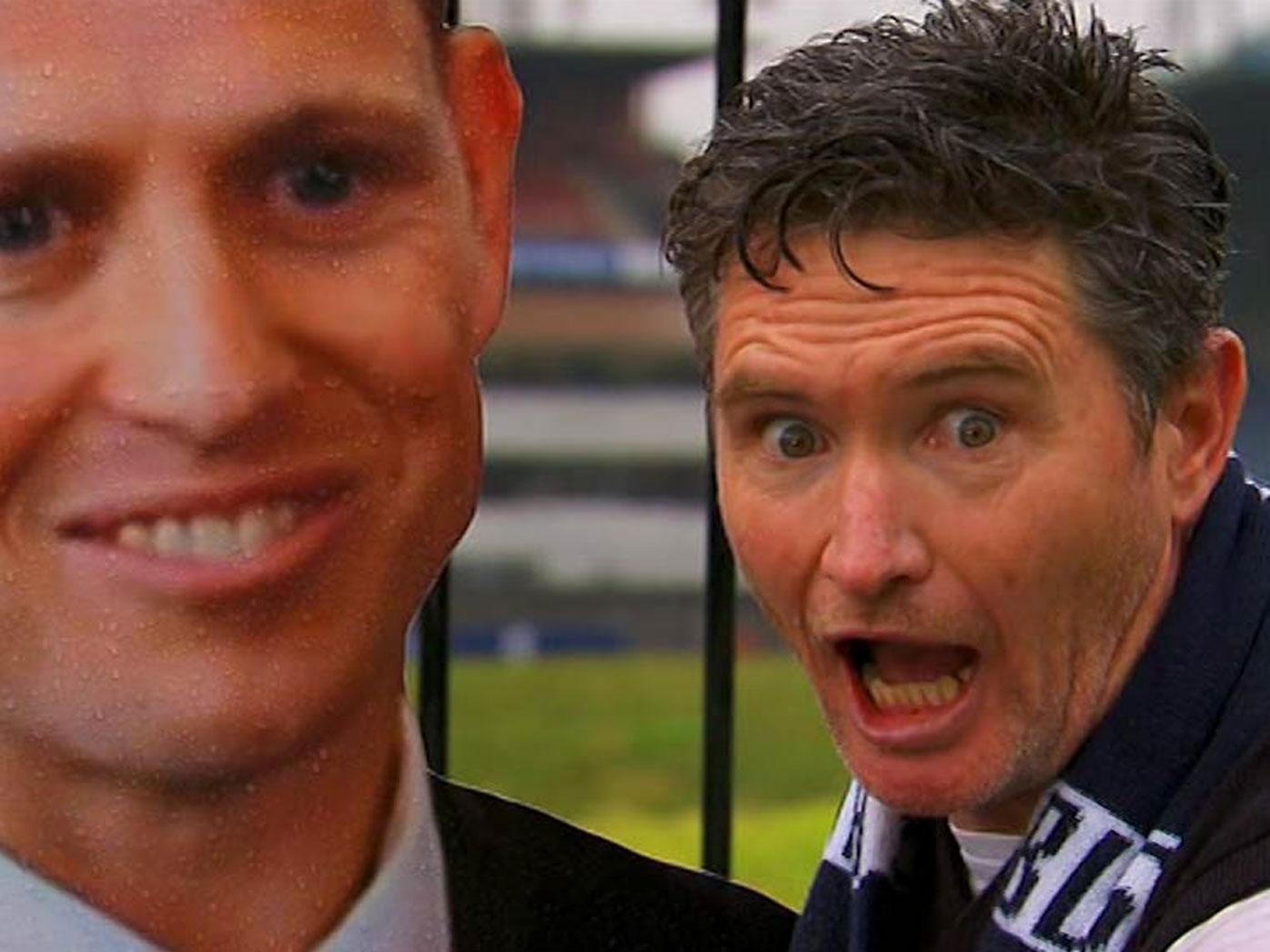 Hughesy welcomes new coach