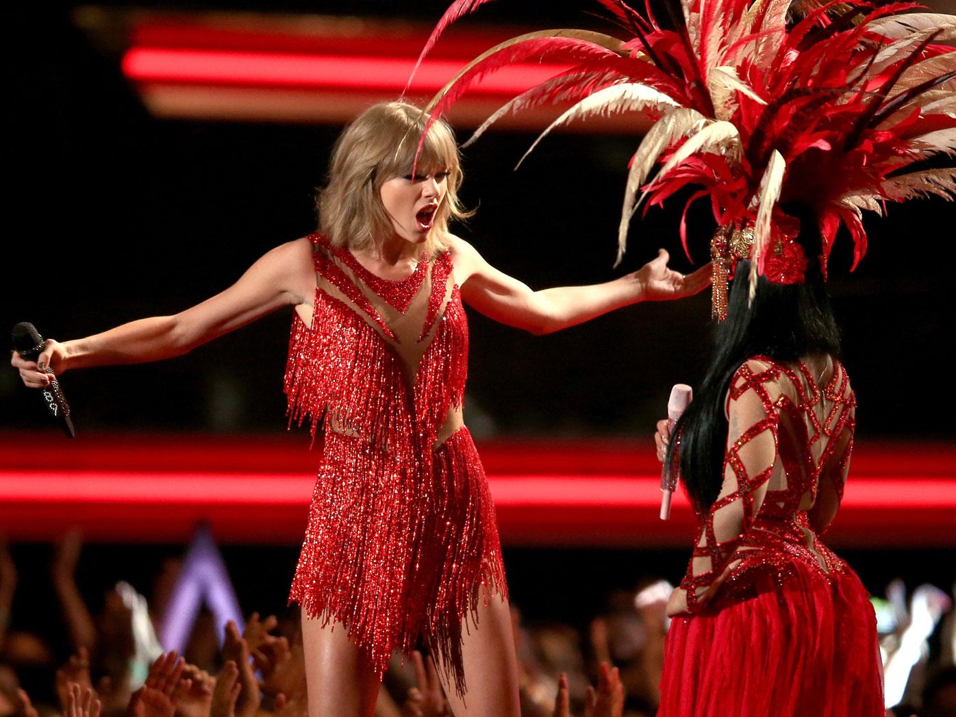 Taylor and Nicki