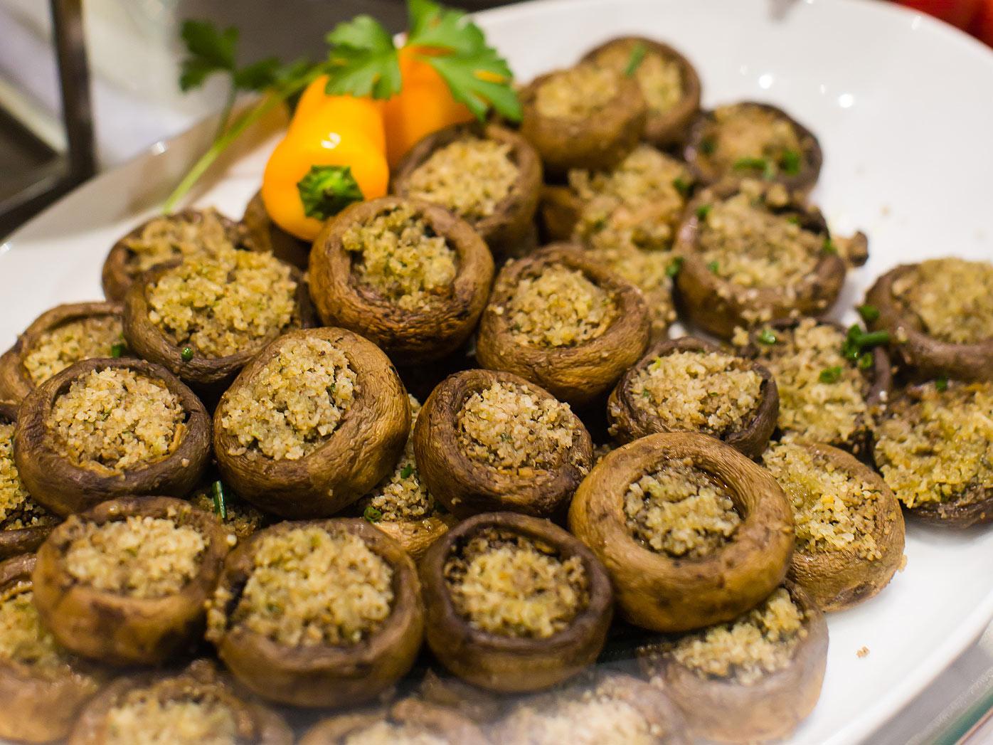 Pasta e Sugo's stuffed mushrooms