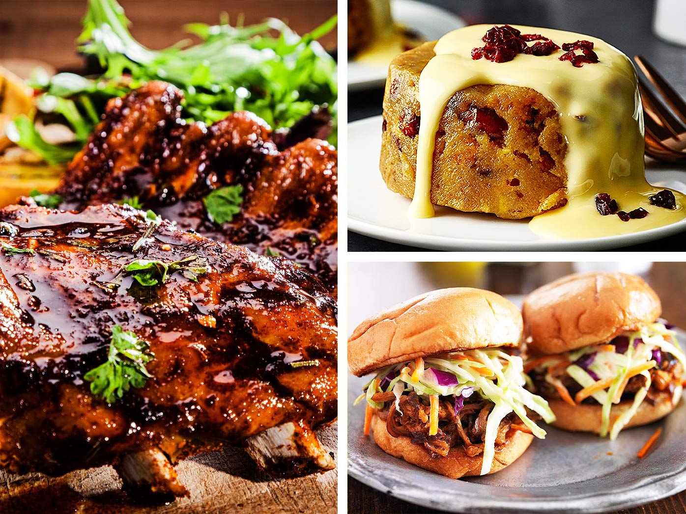 Lamb riblets, tomato and chipotle pork sliders and more