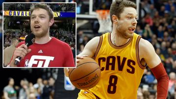 Matthew Dellevedova helped the Cleveland Cavaliers to victory over the Minnesota Timberwolves