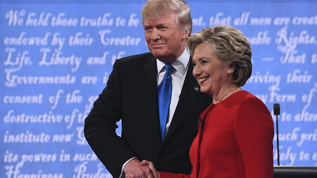 The best moments from the first US presidential debate