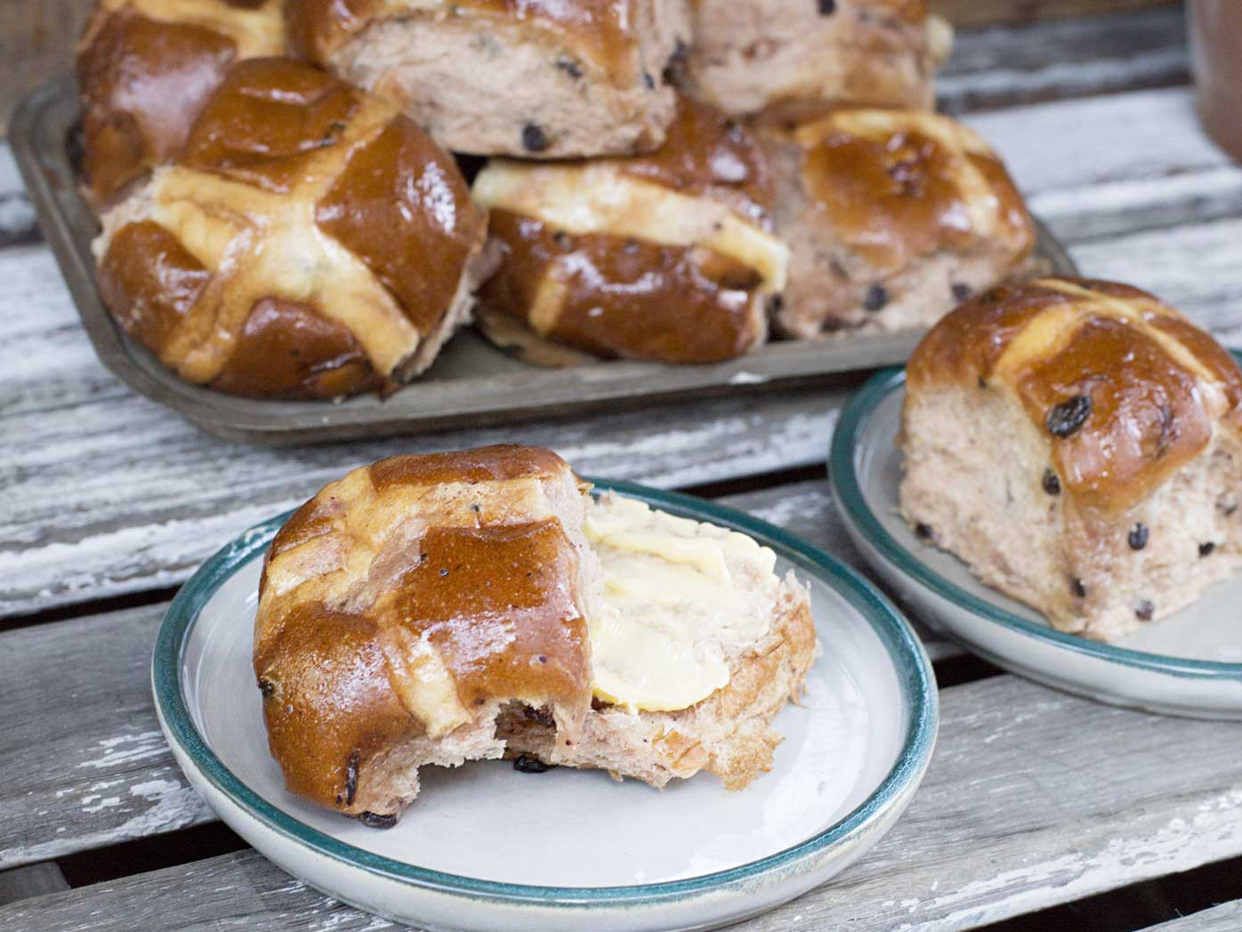 The Ground's hot cross buns