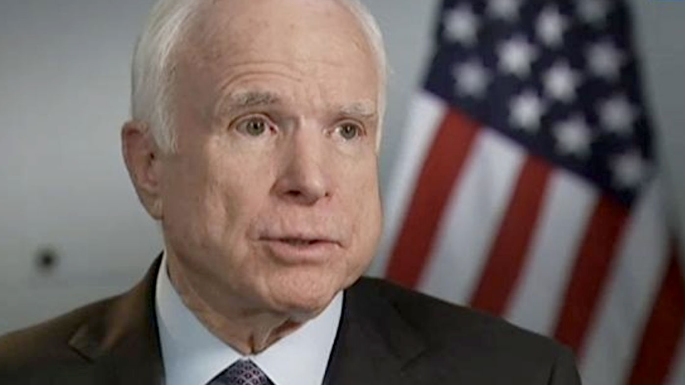 Senator John McCain vows to return to Washington soon