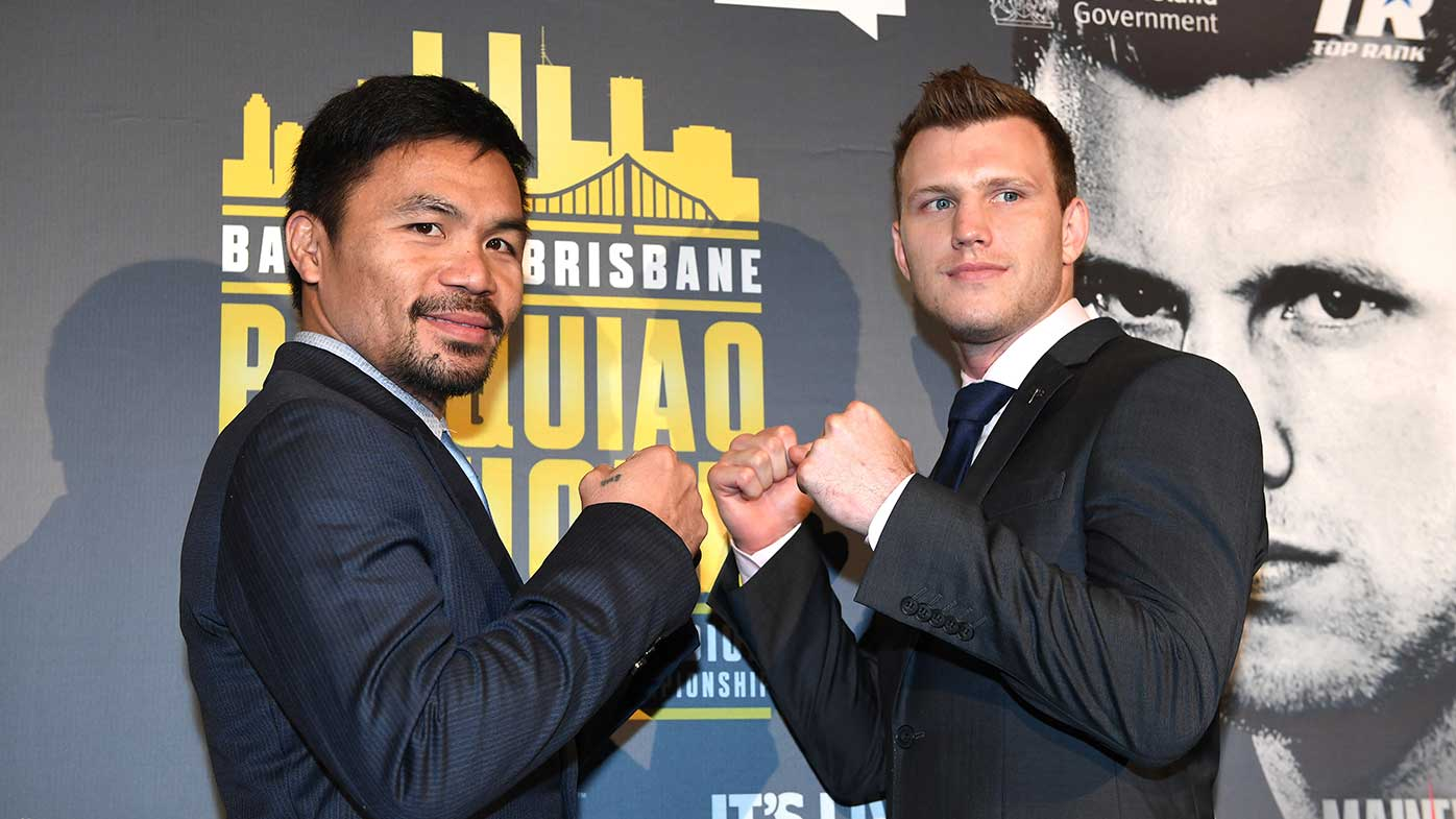 Pacquiao's trainer says it's all on the line against Australian Jeff Horn