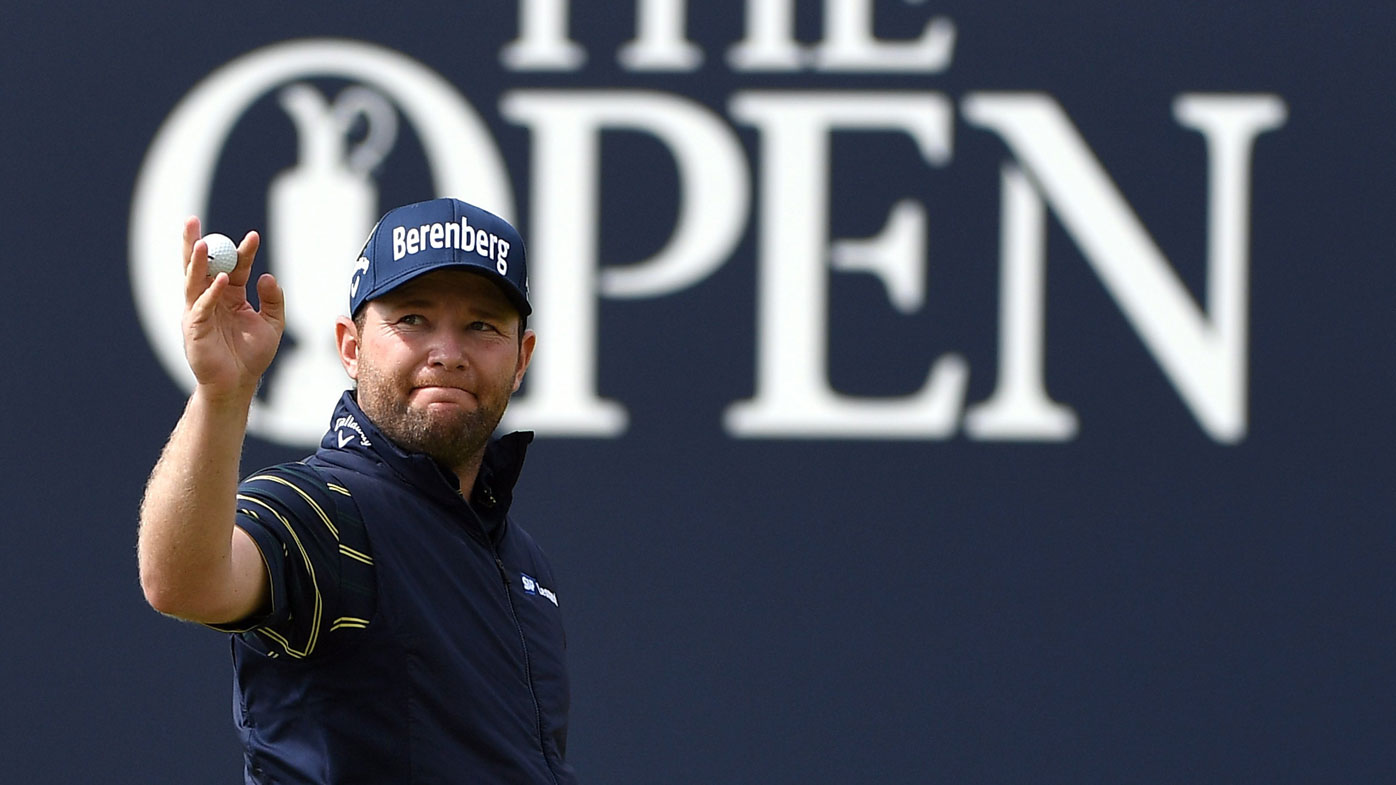 South African shoots record-breaking round at British Open