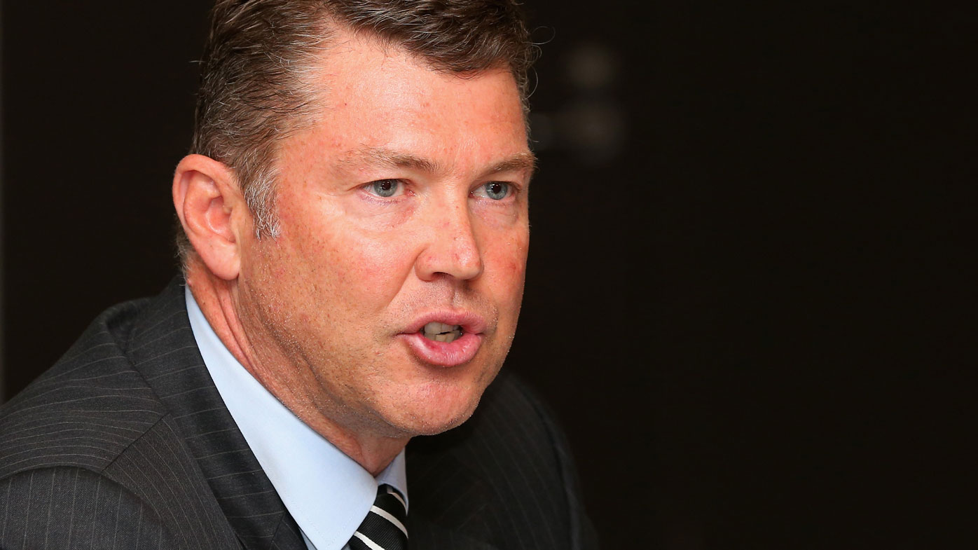 Timing's right as he quits Collingwood CEO post