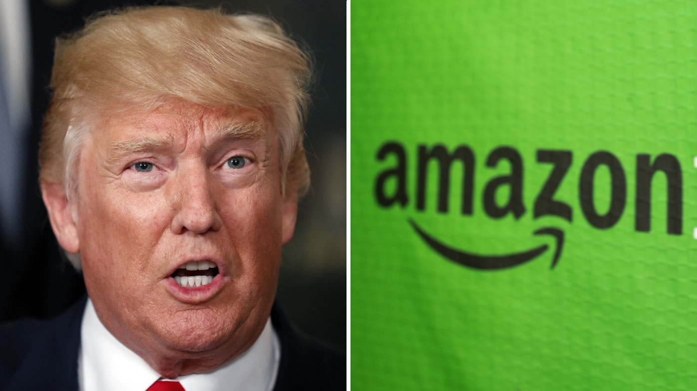 Trump tweet decimates Amazon stock value