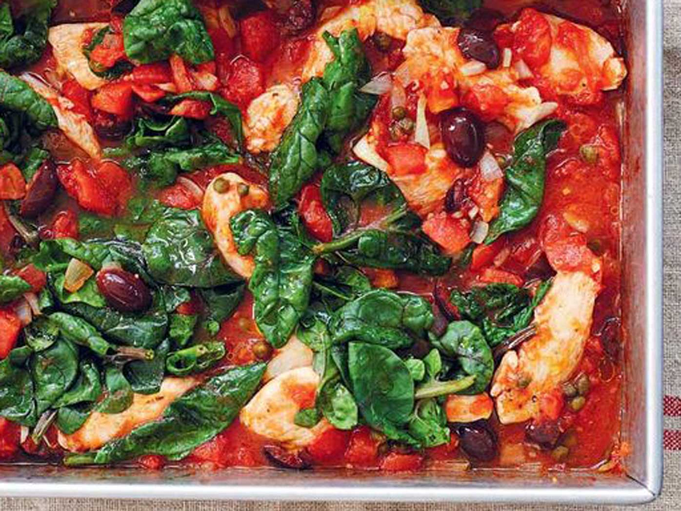 One pan chicken puttanesca recipe