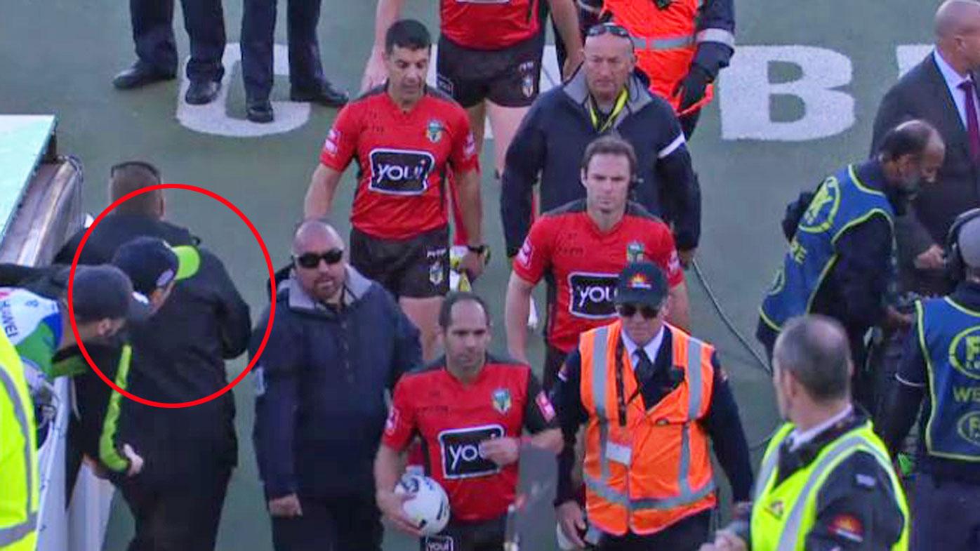 Ricky Stuart condemns behaviour