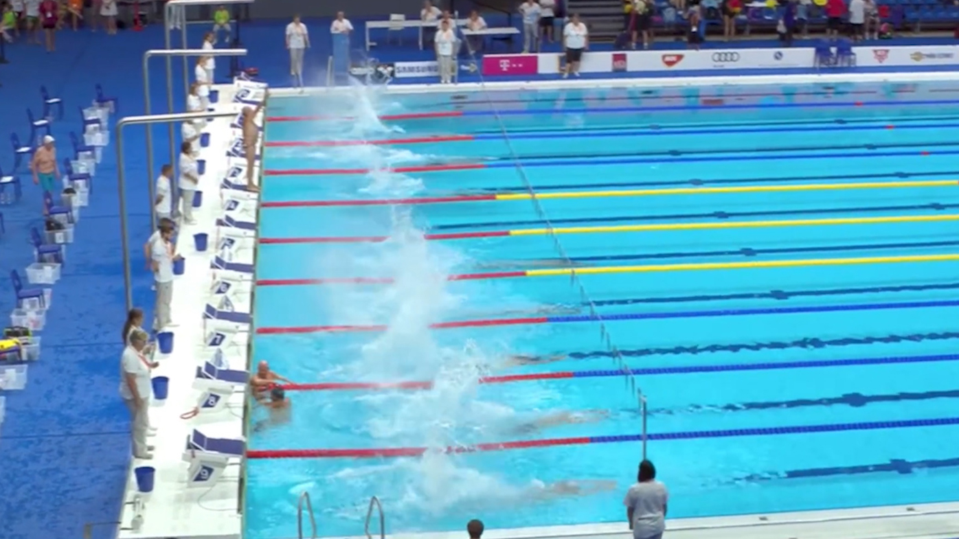 Swimmer's defiant Barcelona tribute after officials refuse minute's silence