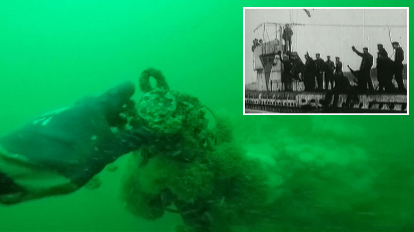 Divers find 23 bodies inside intact German WWI U-boat