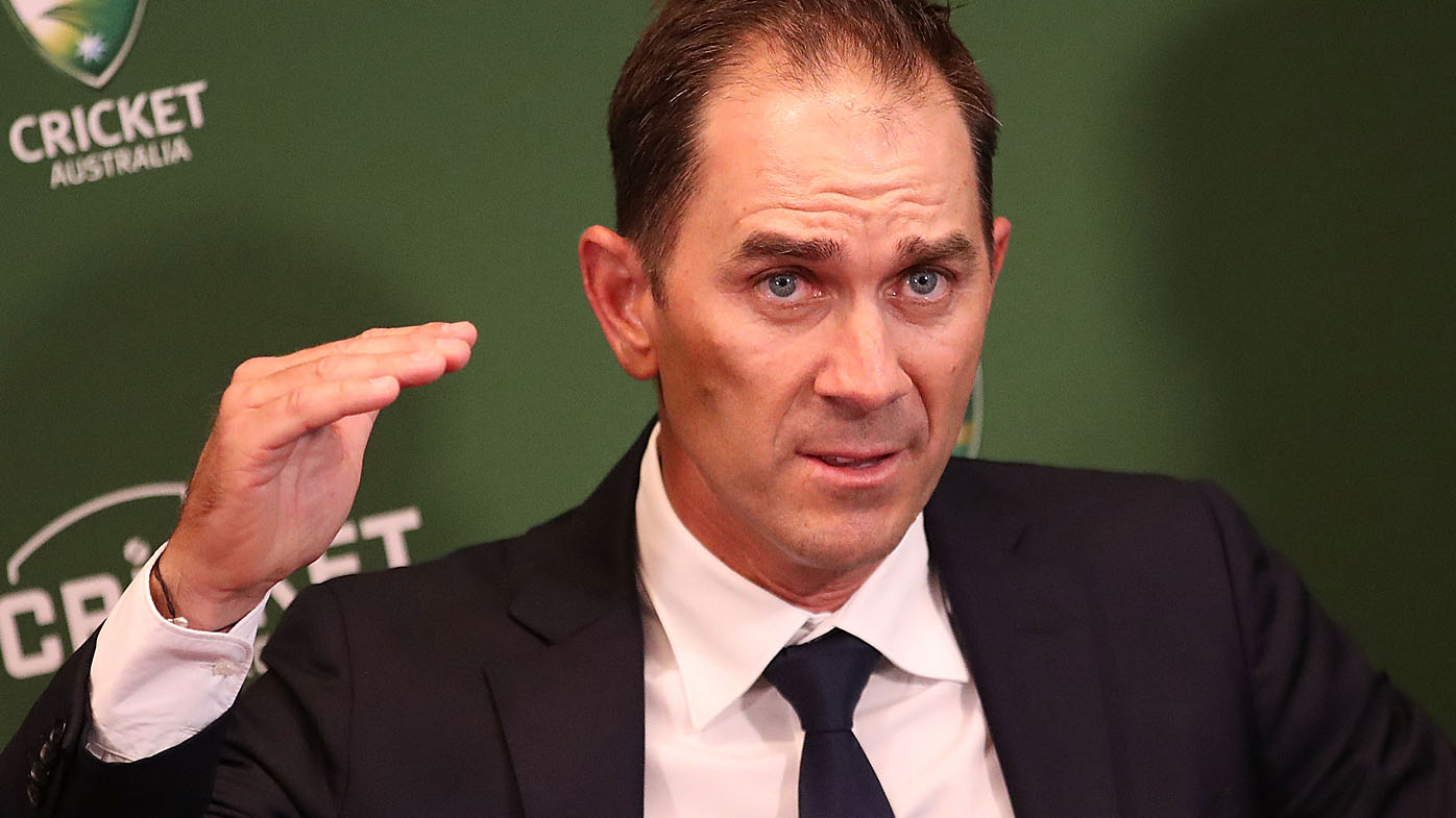 cricket australia announces justin langer as new coach