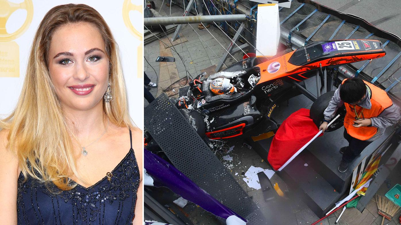 Sophia Floersch Macau crash update: Surgery news from F3 team