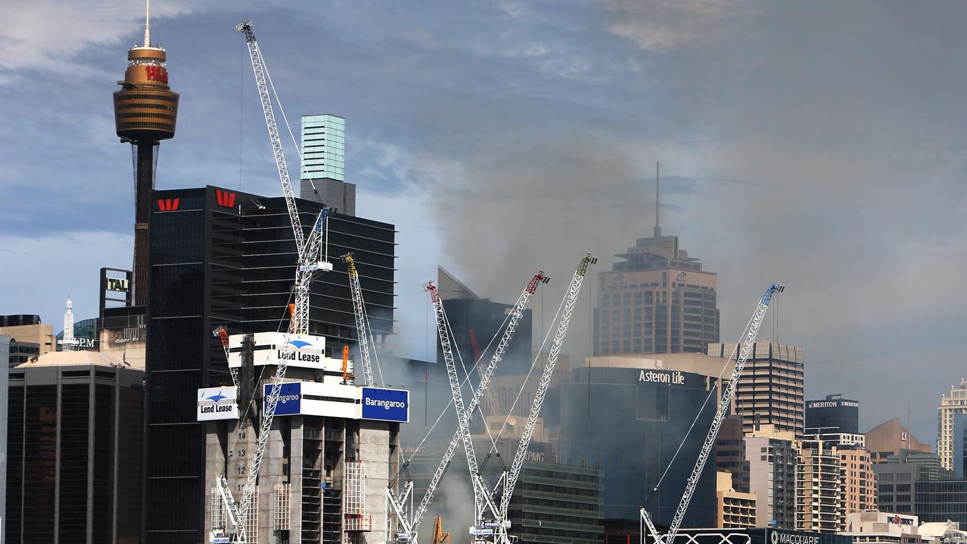 View of Sydney CBD