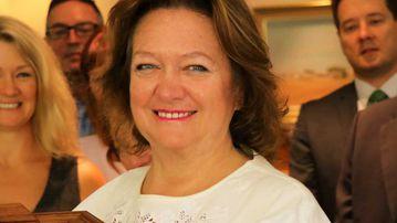 Gina Rinehart. (AAP)