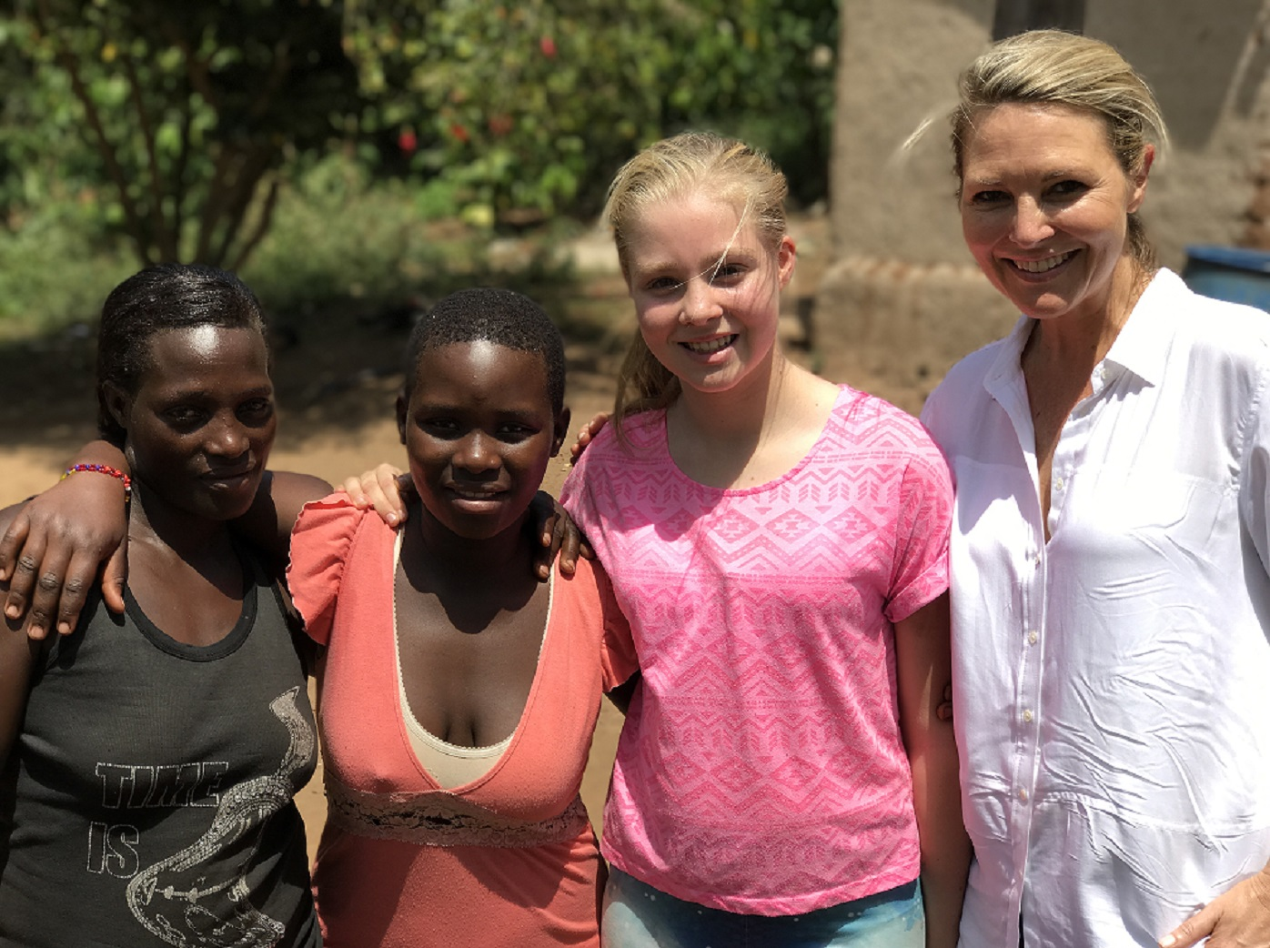 Georgie Gardner: 'Why I took my daughter to Uganda'