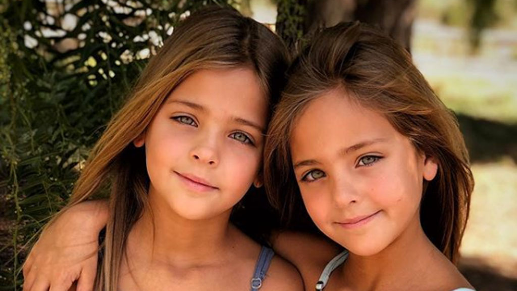 The most beautiful twins in the world - 9Honey