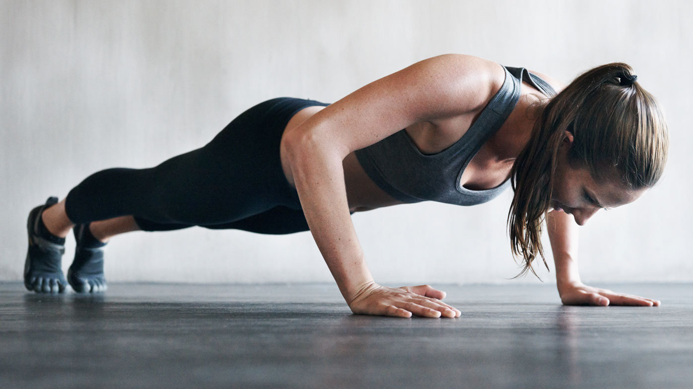 How to do a push-up correctly - 9Coach