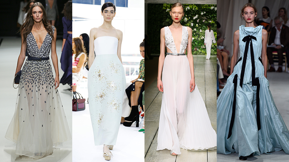 60 bridal looks spotted on the spring/summer 2016 runways