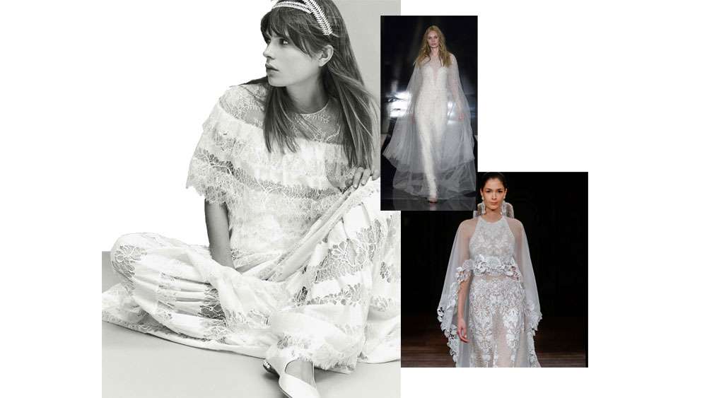 Bridal trends: The rebel, the exhibitionist, the flirt…