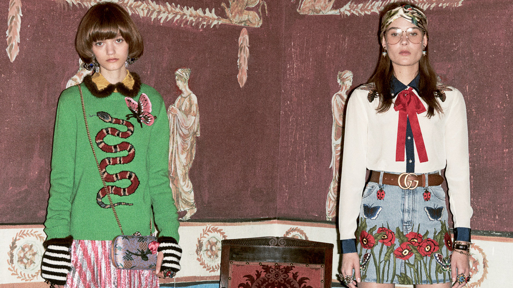 Gucci pre-fall 2016 lookbook
