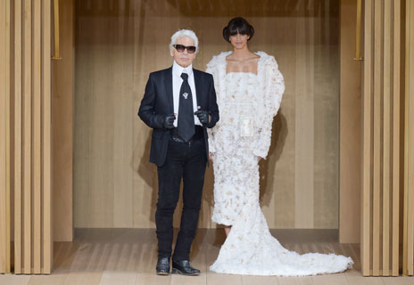 Karl Lagerfeld is putting a ring on it