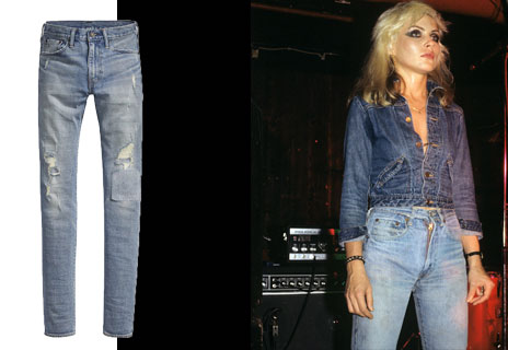 True blue: Levi's revive the iconic 505c style