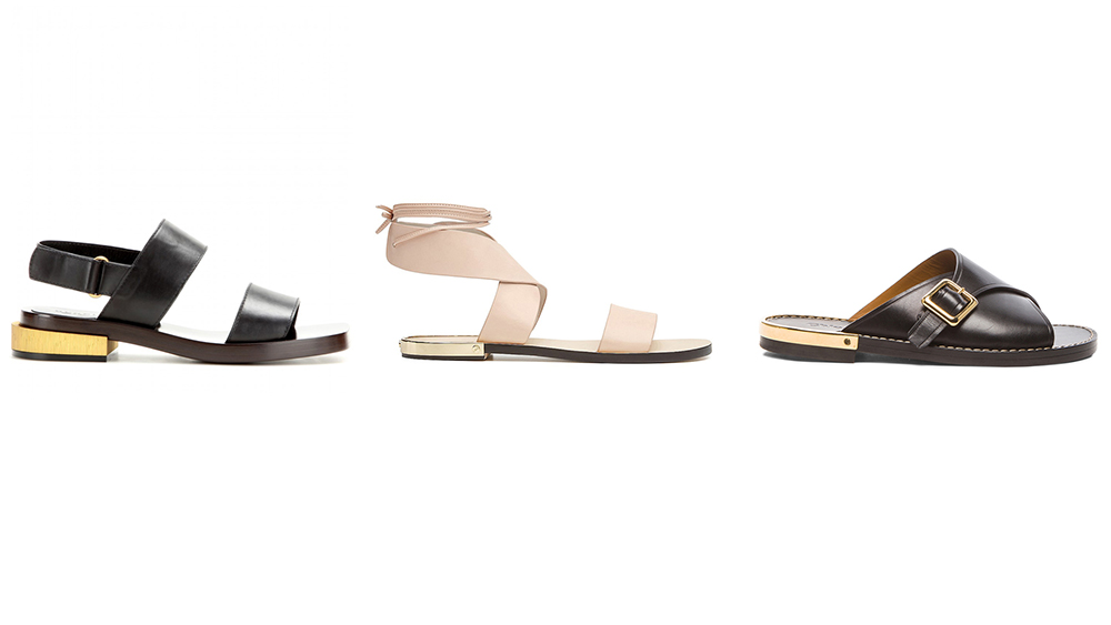 Office-appropriate sandals for summer