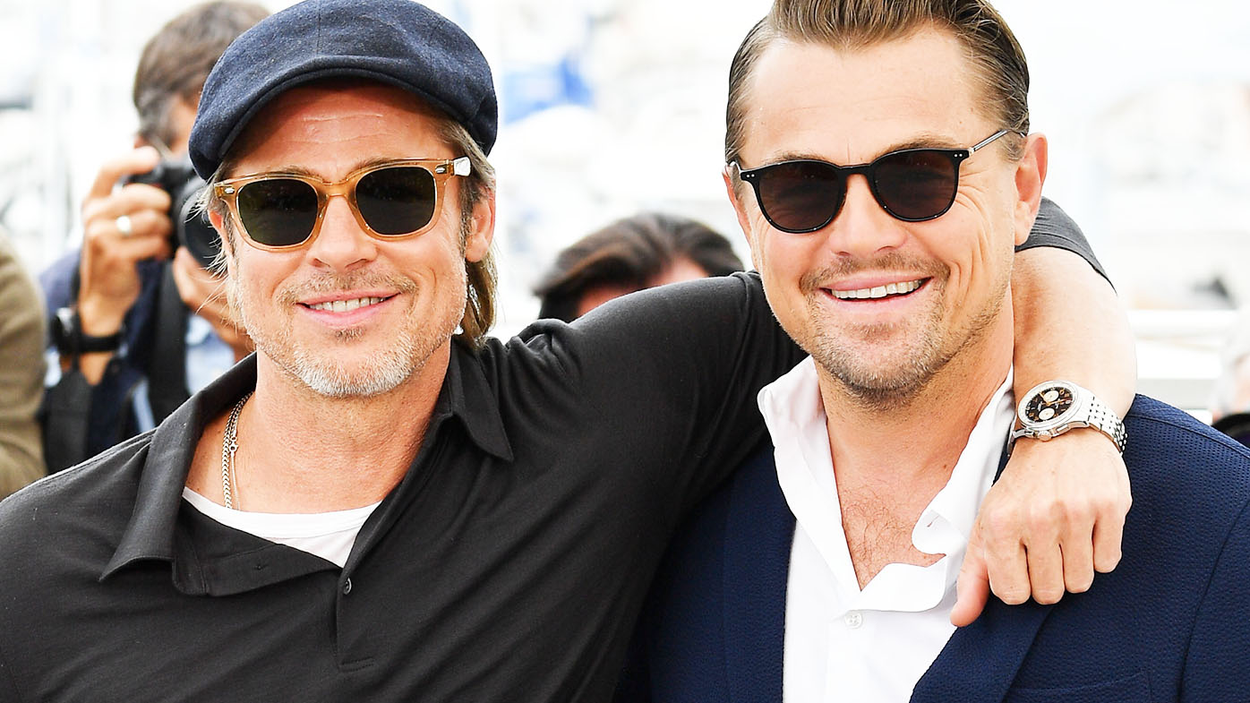 230a242bad42 Cannes 2019: Leonardo DiCaprio and Brad Pitt wore Garrett Leight sunglasses  on the reds carpet - 9Style