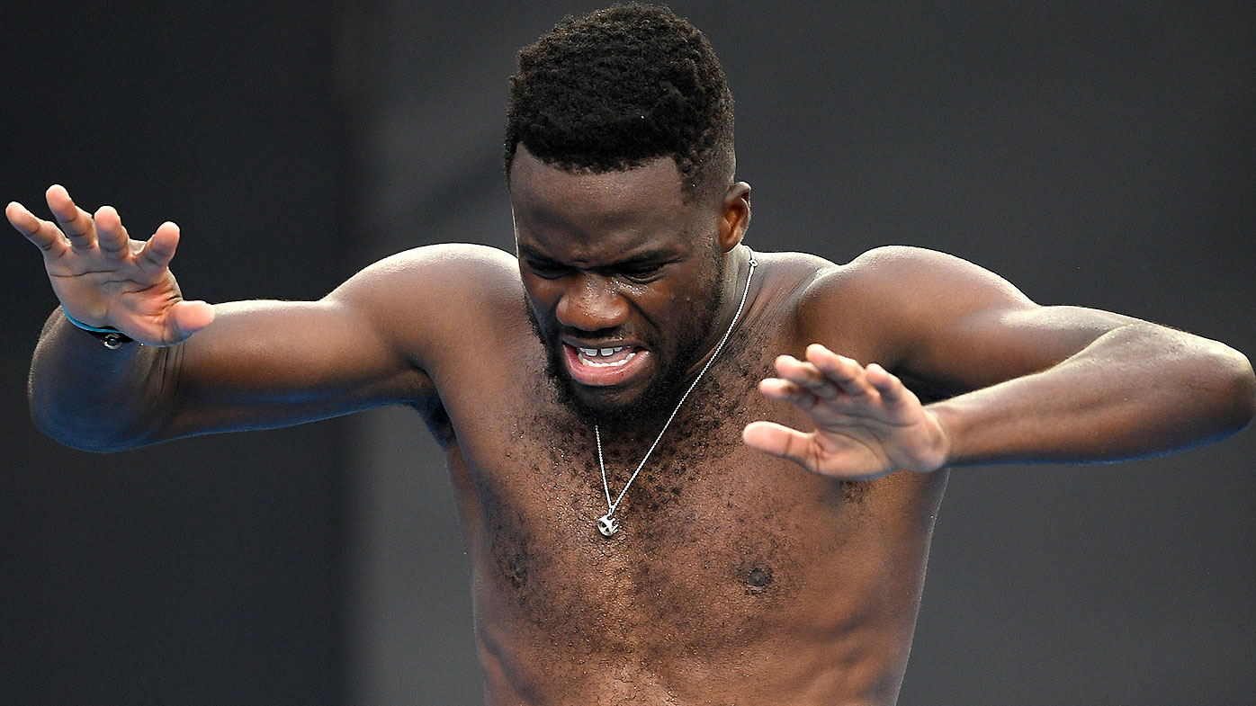 Tiafoe downs Dimitrov for first Grand Slam quarter-final