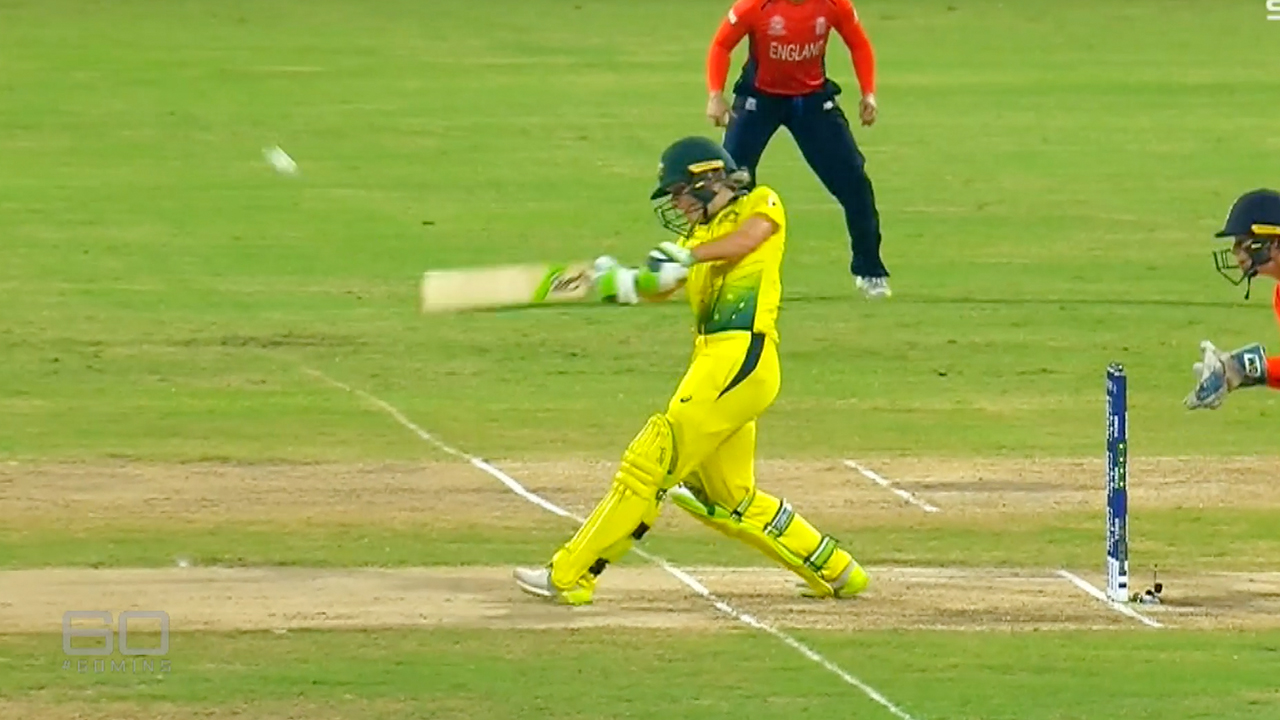 Healey at the bat for Australia