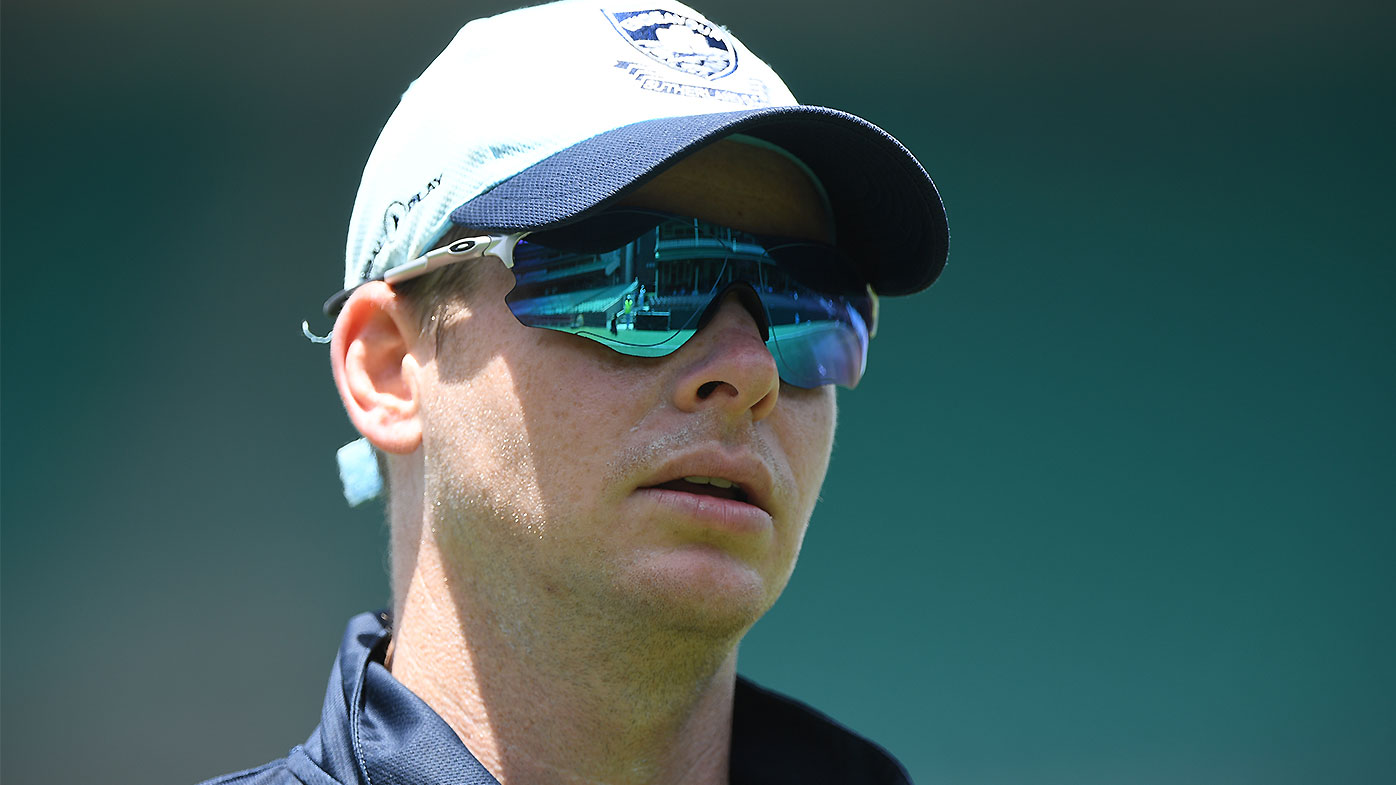 Steve Smith is facing a race against time to be fit for Australia's World Cup campaign