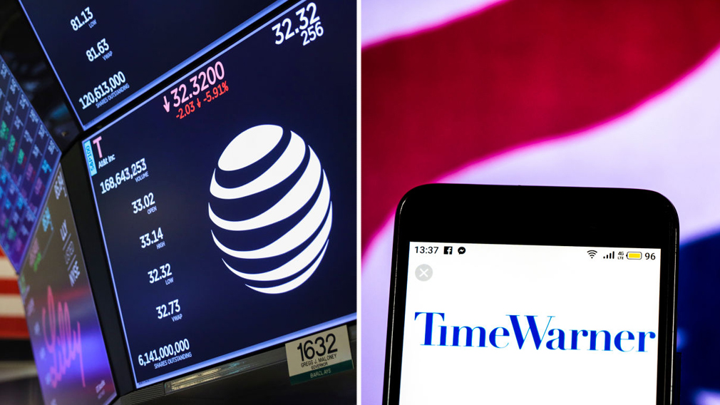 AT&T Time Warner takeover acquisition finance news US Government Appeals Courts