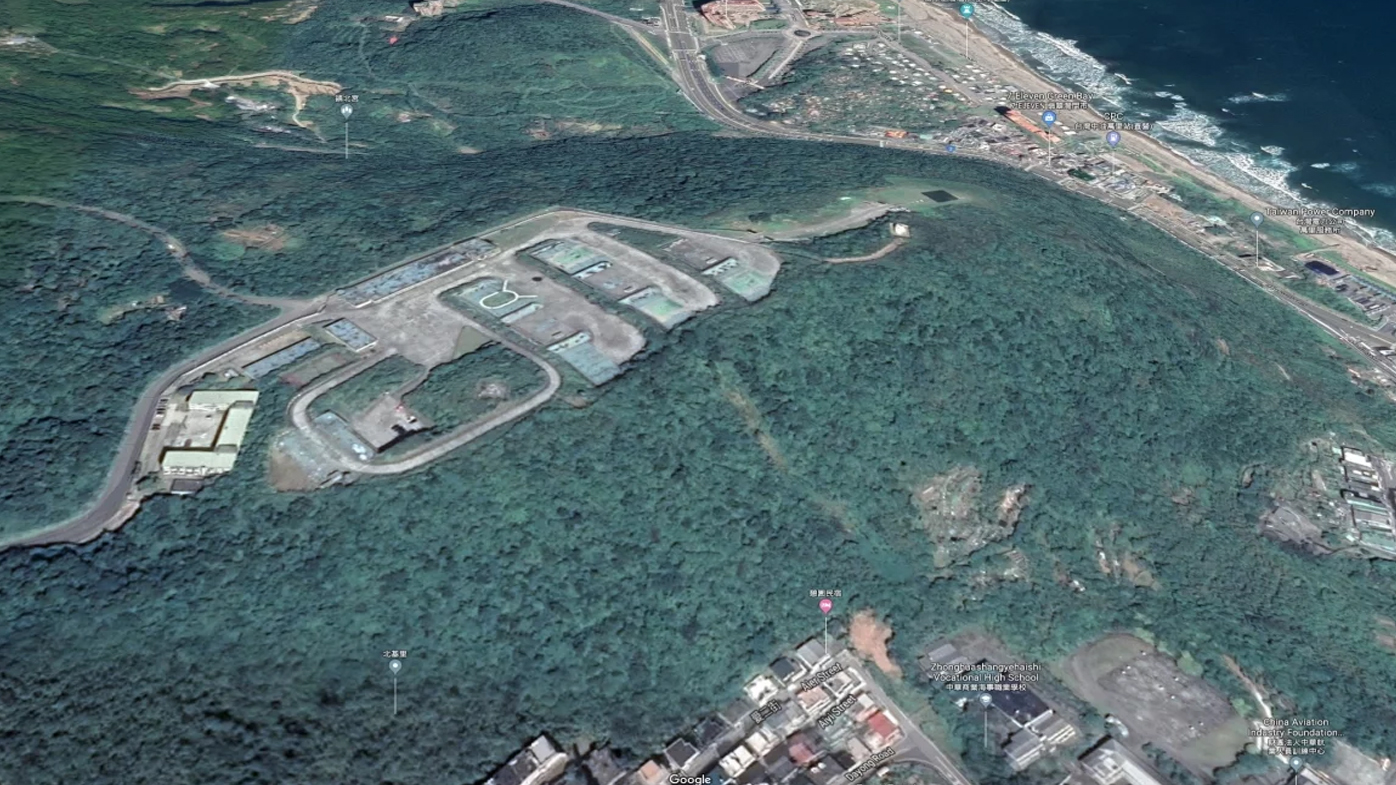 Taiwan's military secrets revealed on Google Maps