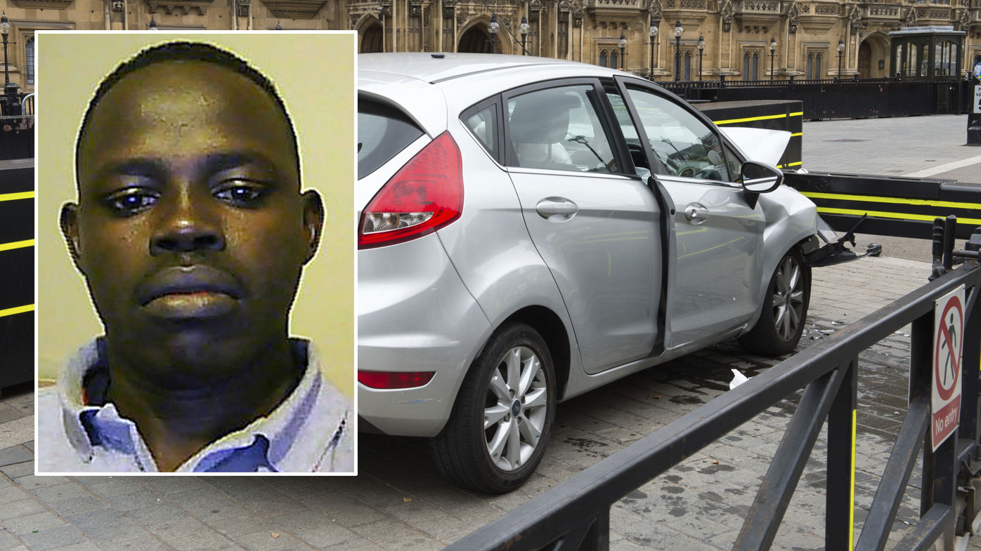 Student tried to kill cyclists and cops outside UK's parliament