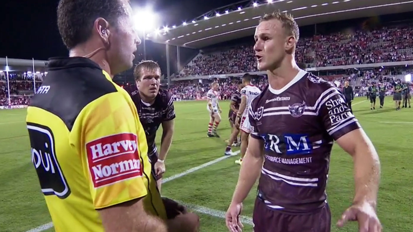 DCE fumes at referee