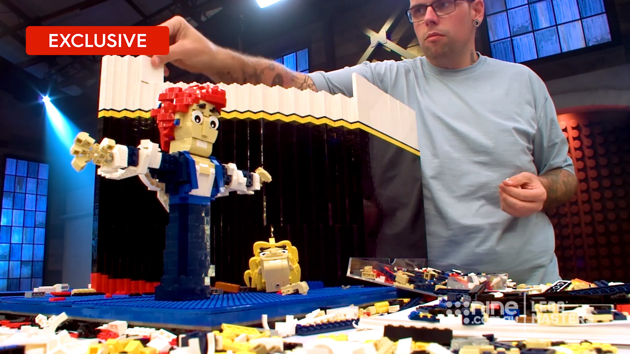 LEGO Masters 2019: Incredible Classic Movie Scenes built from LEGO